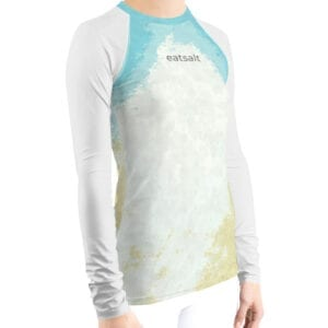 Women's Rash Guard - side view