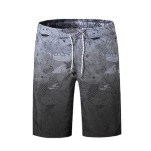 Grey Coney Board Shorts by Eatsalt Surfwear