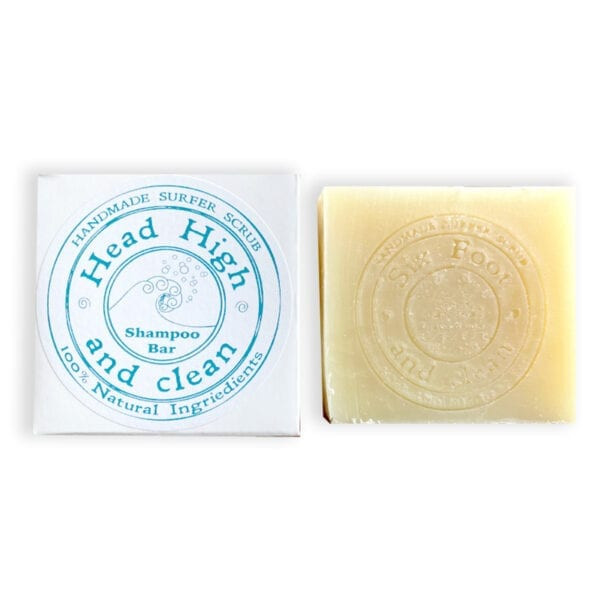 100& natural shampoo bar made in Wales for surfers