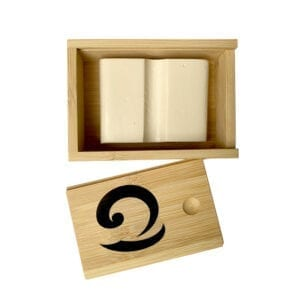 Bamboo Surf Wax Box