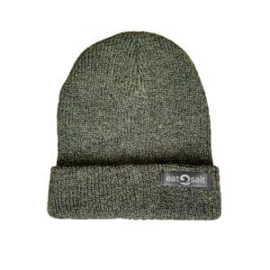 Earthy Green Beanie Knitted Hat