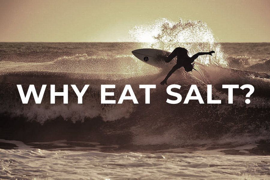 Why 'Eat Salt'? Why it's important to stay salty…