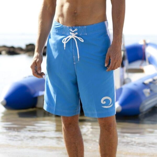 Eatsalt Light Blue Board Shorts Surfing Boardies