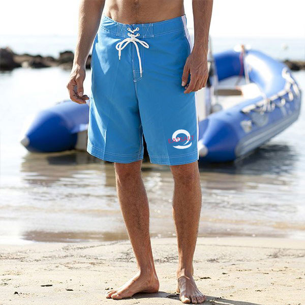 Light Blue Eatsalt Board Shorts