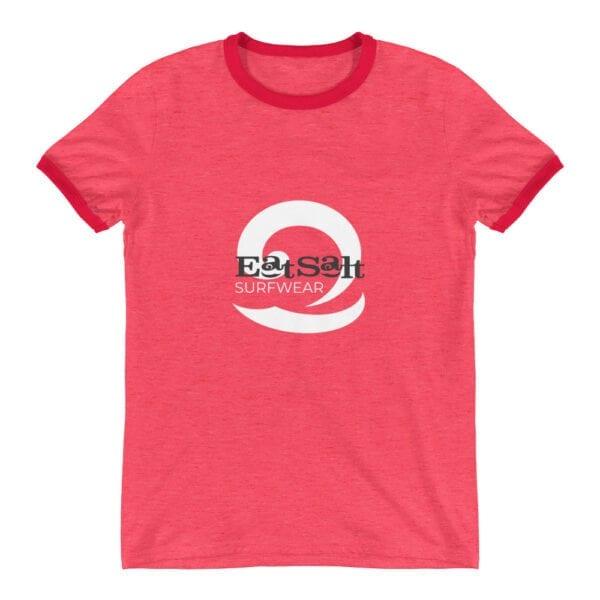 Eatsalt ringer t-shirt red