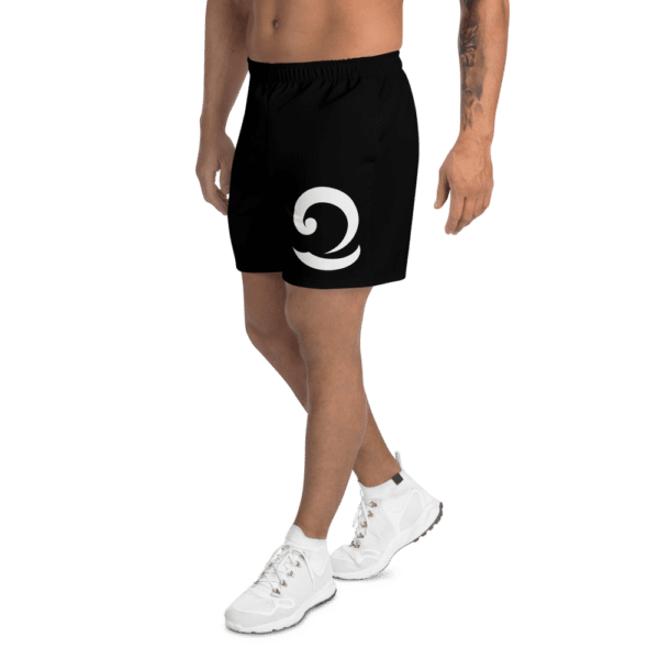 Eatsalt Surfwear black athletic shorts (logo side)