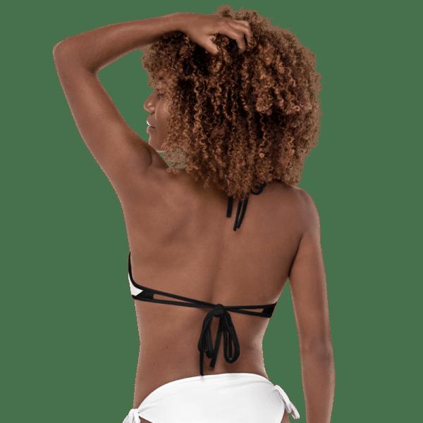 Black and White Bikini by Eatsalt Surfwear - back