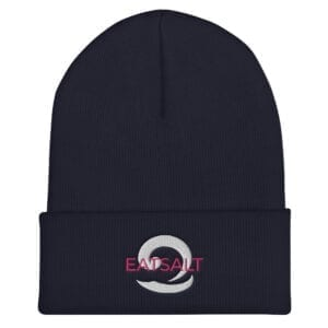 Navy Beanie hat - unisex