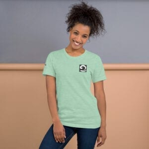Short-sleeve t-shirt - mint green