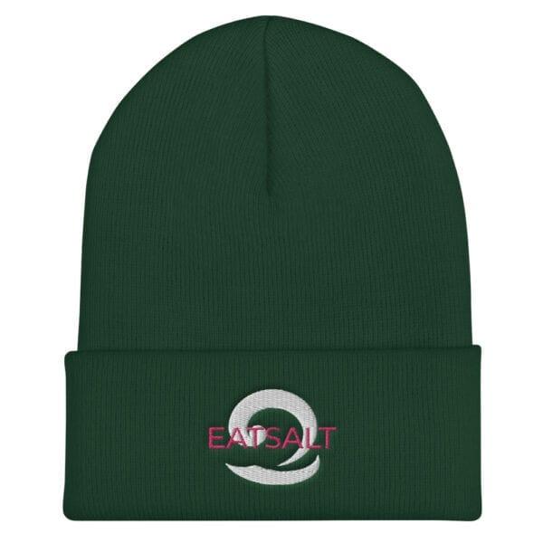 Green Beanie hat - unisex