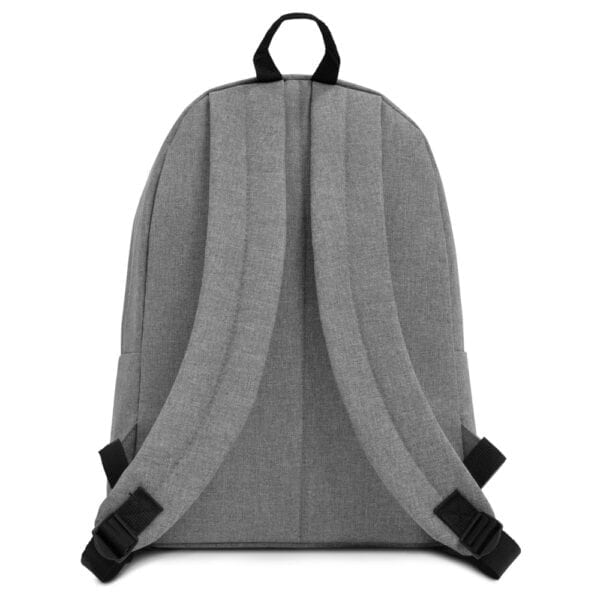 Eatsalt backpack in grey - back