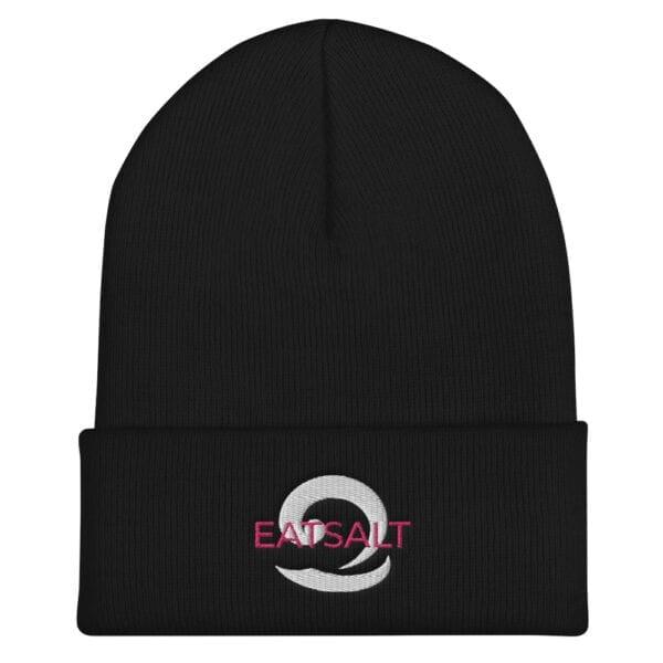 Black Beanie hat - unisex
