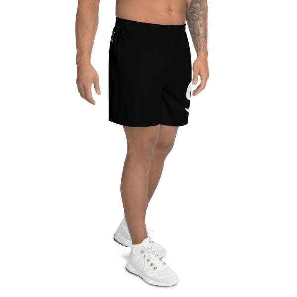 Eatsalt Surfwear black athletic shorts (right side)