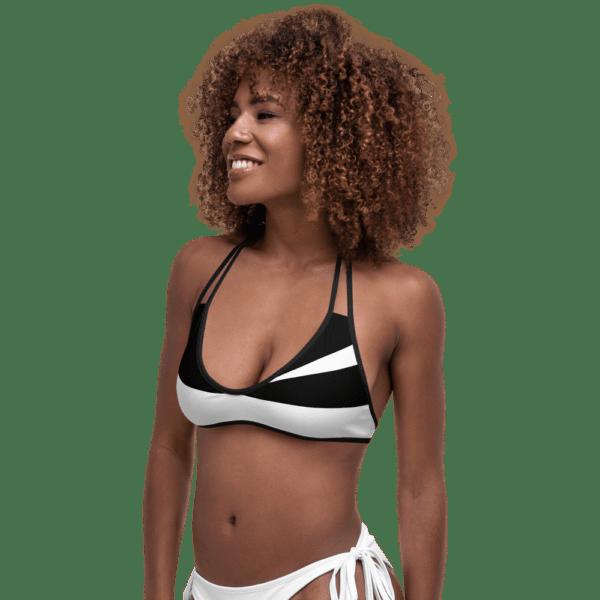 Black and White Bikini by Eatsalt Surfwear
