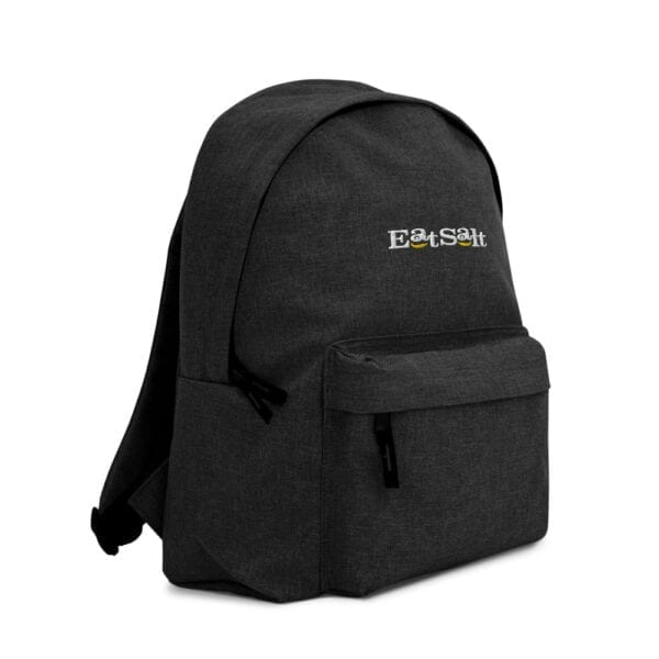 Eatsalt backpack in charcoal