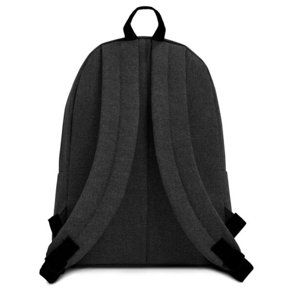 Eatsalt backpack in charcoal - back
