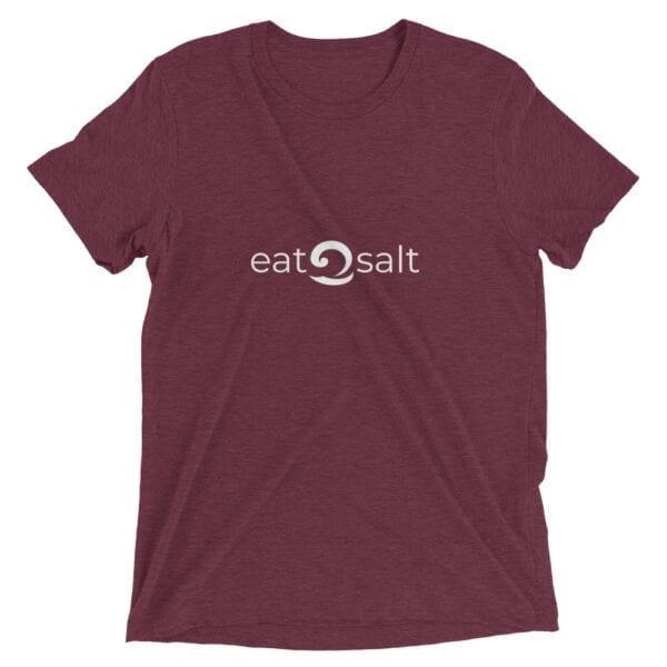 maroon eatsalt t-shirt
