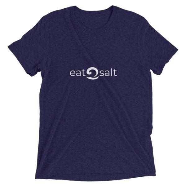 dark blue eatsalt t-shirt