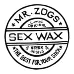 Mr Zog's Sex Wax Logo - square - black on white - 600x600px