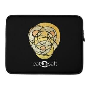 """black neoprene laptop case by Eatsalt - 15"""" laptop of MacBook"""