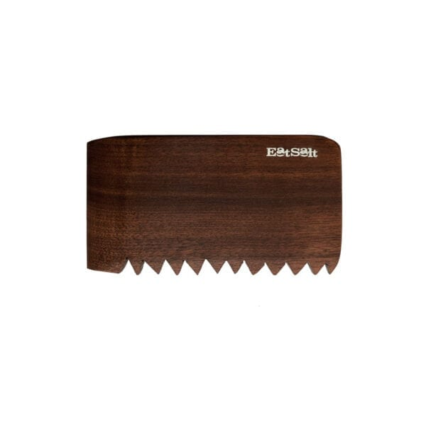 Handmade Hardwood Surf Wax Comb by Eatsalt